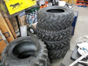 KNAPPS in PRESCOTT  HAS USED atv TIRES $25.00 EACH