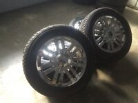 "20"" OEM Lincoln Mark LT/Navigator On General Grabbers With TPMS"