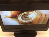 SANSUI 19 inch 720p LCD build in DVD player works A1