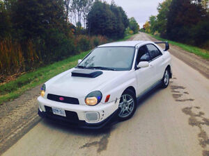 2002 Subaru WRX AWD ETESTED - Perfect for winter coming!