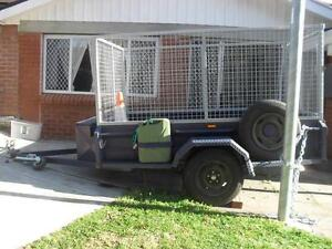 Trailer hire - 8ft x 5ft; with all round cage Beverly Hills Hurstville Area Preview