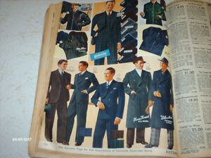 1940 Eatons Catalogue & National Geographic Magazines
