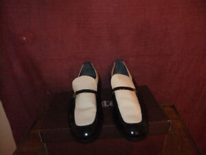 MEN'S PATENT LEATHER BALLY SHOES