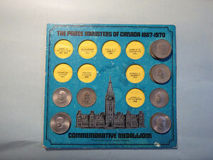 For Sale Prime Ministers Of Canada Coins  $5