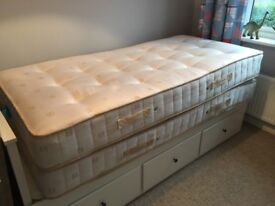 2 x single mattresses from dreams only used on occasions