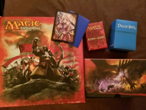 Magic the gathering collection.
