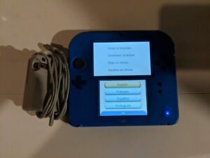 BLUE NINTENDO 2DS
