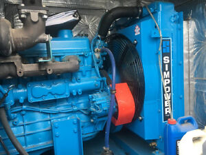 100 kW LOW hour Diesel Generator  - ready to move!