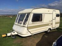 Abbey two berth lightweight caravan