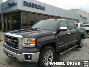 2015 GMC Sierra 1500 SLT   Nav, Leather, Remote Start, 5.3