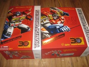 Transformers Platinum Year of the Horse Optimus Prime and Starsc