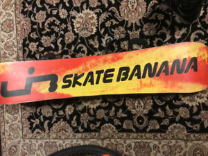 Lib Tech Skate Banana 158w + Burton Bindings/Boots