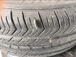 4 tires michelin on the rim