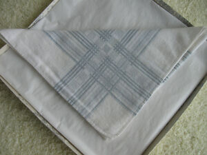 GRANDPA'S LARGE OLD VINTAGE SOFT COTTON HANKIE