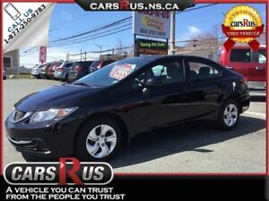 2013 Honda Civic LX      NO TAX sale on now....1 week only!!