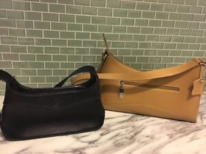 2 leather purses - $15 for both