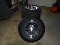 """REDUCED  -  17""""  GM tires and wheels"""