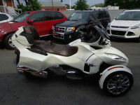 Can-Am 2013 SPYDER RT LIMITED Garantie 1er Juillet 2018