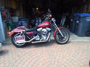 1993 Harley Davidson FXR Superglide with extras