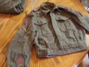 Canadian militaryBattle dress blouse and pants London Ontario image 1