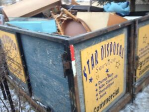from $ 179.00 BINS OF ALL SIZE RENTAL