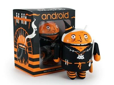 Android Mini Collectible 2015 Halloween Special Ed. - Warty Witch by Andrew Bell - Android Halloween
