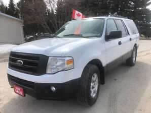 2010 FORD EXPEDITION  XLT MAX THIRD ROW SEATING 4x4