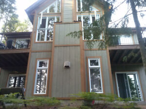Rent COTTAGE ON LAKE:canoe,hiking,kayak,special occasions