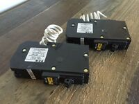 15 amp Eaton AFCI breakers.