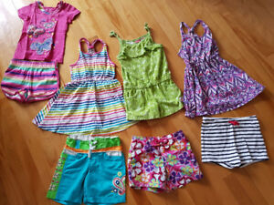 Lots vêtements 4-5 ans fille