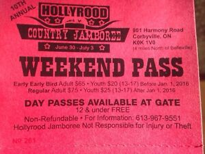 Hollyrood tickets