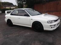 1993 Subaru Impreza WRX TYPE RA FACTORY WHITE MODIFIED