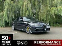 2017 Alfa Romeo Giulia 2.9 V6 BITURBO QUADRIFOGLIO 4d 503 BHP Saloon Petrol Auto