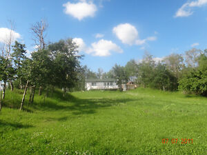Bungalow on 4.5 acres, 4 miles north of Busby,AB