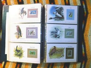 Birds of the World Stamp Collection - Bird Preservation Council