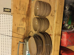 Plates - Dishes - Bowls/ Two complete sets