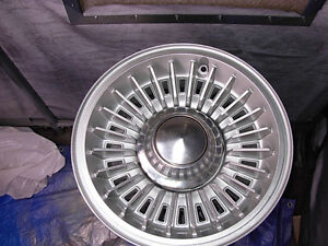 VERY RARE SET OF 5 1973 CHEVY SPECIAL OPTION WHEELS