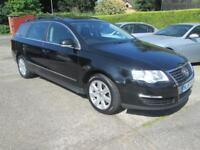2007 57 VW Passat Estate 2.0 Tdi Se Black