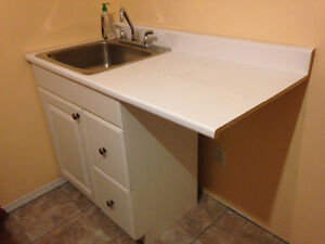 Sink & counter ,