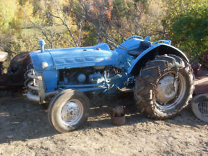 2 Ford  Tractor