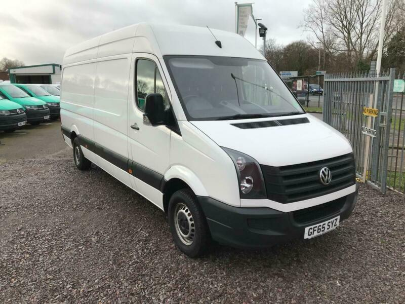 2764eedfccd5b9 Volkswagen Crafter CR35 LWB 2.0 TDI 136PS HIGH ROOF EURO 5 DIESEL MANUAL  (2015)