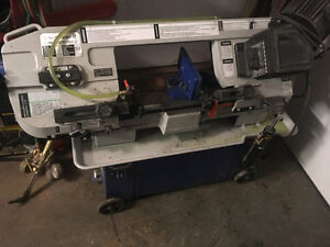 horizontal shop band saw