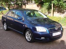 EXCELLENT AUTOMATIC !! 2003 TOYOTA AVENSIS 1.8 VVT-i T3-X 5dr AUTO, LONG MOT, WARRANTY