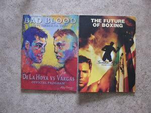 Bad Blood De Las Hoya vs Vargas Official Program