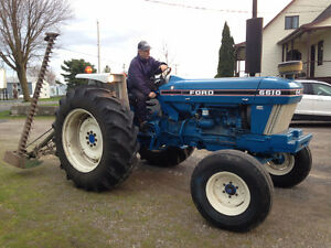 Tracteur Ford 6610, 1984,