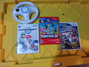 Wii Games Mario Lot