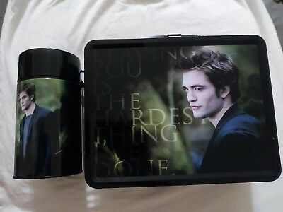 Twilight Saga New Moon Lunch Box with Thermos  Edward Cullen