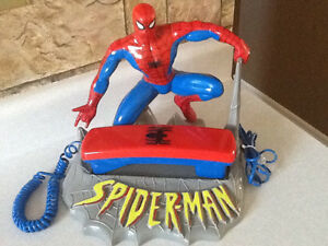 *AWESOME* SPIDERMAN TABLE TOP TELEPHONE London Ontario image 1