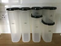Tupperware modular mates set of 6 containers