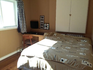 Basement bedroom for rent in Airdrie SW immediately